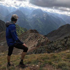 Tyler Fox in the hills