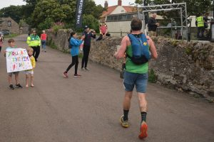 runner on the Saint Cuthbert's Way Ultra